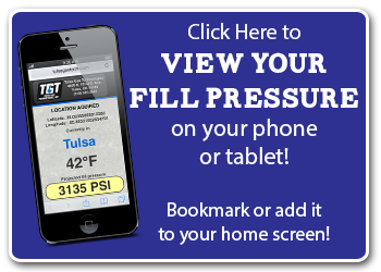 Click to view fill pressure based on your current location and temperature.